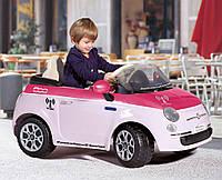Детский электромобиль Fiat 500 С ПДУ