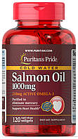 Омега-3 Puritan's Pride Salmon Oil 1000 mg 120 softgels