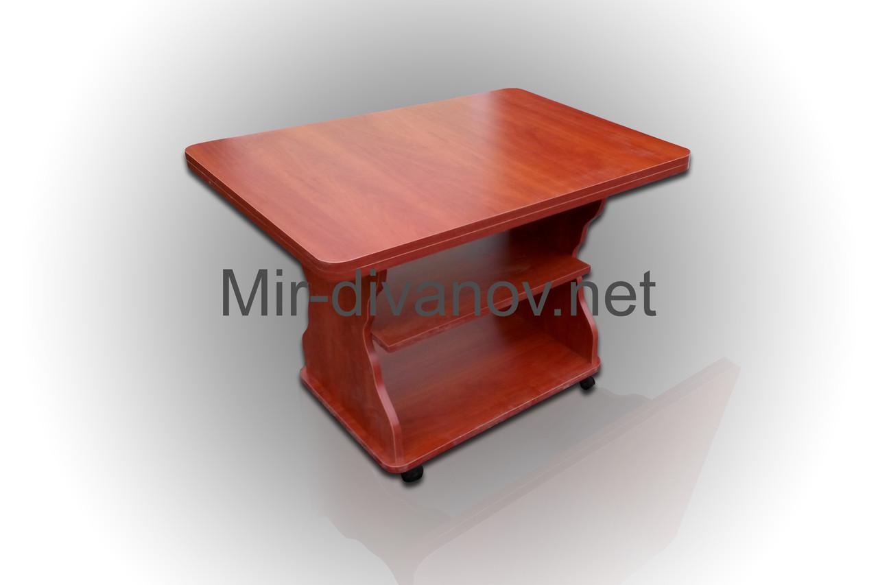Раскладной журнальный стол Квадро цвет Яблоня
