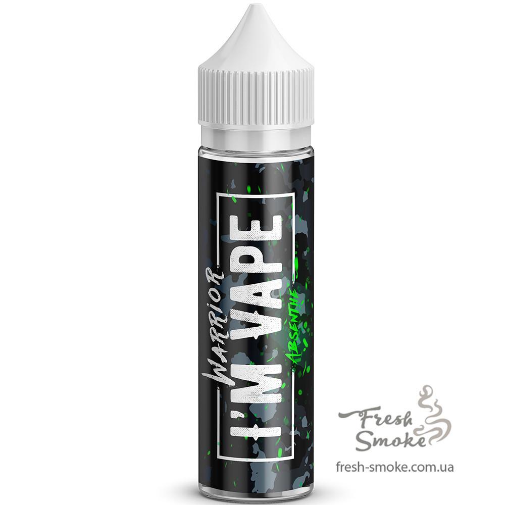 I'm Vape Warrior Absenthe Tobacco 60 мл Жидкость для Электронных сигарет (Заправка для вейпа) 6 мг