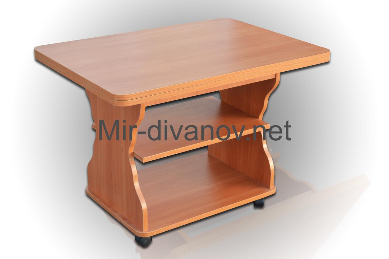 Раскладной журнальный стол Квадро цвет Ольха