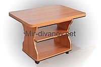 Раскладной журнальный стол Квадро цвет Ольха, фото 1