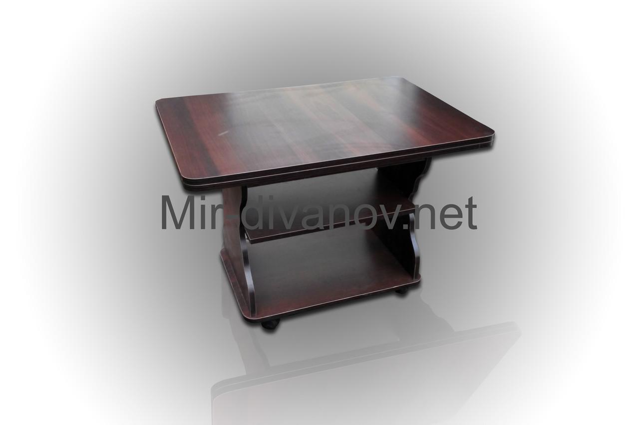 Раскладной журнальный стол Квадро цвет Орех Темный