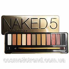 Палетка тіней для повік Naked5 Kisscrown Urban Decay (12 кольорів/набір)