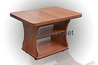 Раскладной журнальный стол Квадро цвет Орех Лесной
