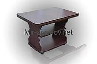 Раскладной журнальный стол Квадро цвет Венге Темный