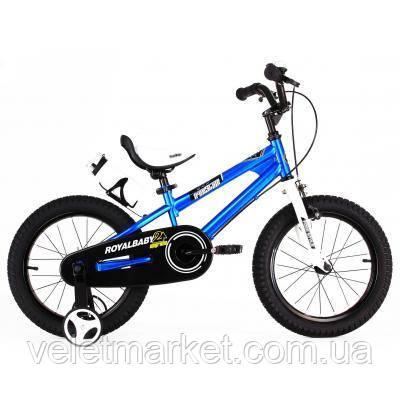 """Детский велосипед Royal Baby FREESTYLE 14"""", синий (RB14B-6-BLU)"""