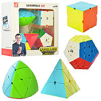 Кубик 4шт(5,5-5,5-см, 8-8см, 9-9см), в кор-ке, 20-20-8см