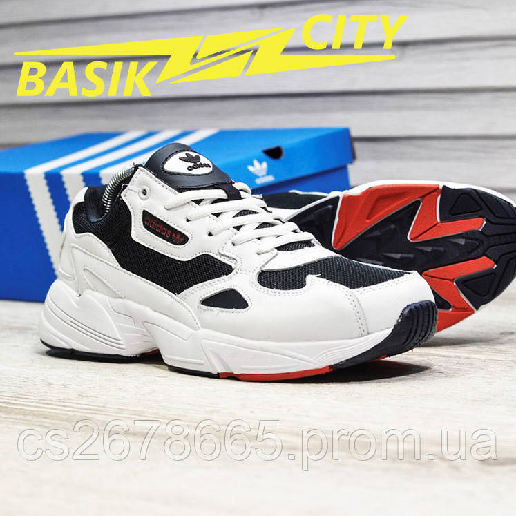 Мужские кроссовки Adidas Falcon White