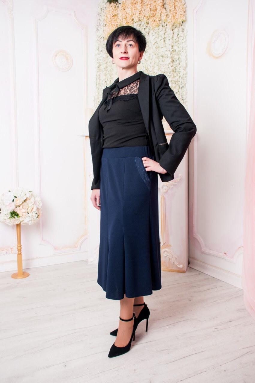 "Женская юбка ""Тая"" размеры 52-62"