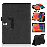 "Чехол книжка для Samsung Galaxy Note 10.1"" 2014 Edition SM-P600 P601 TTX Leather Case (Black) Черный"
