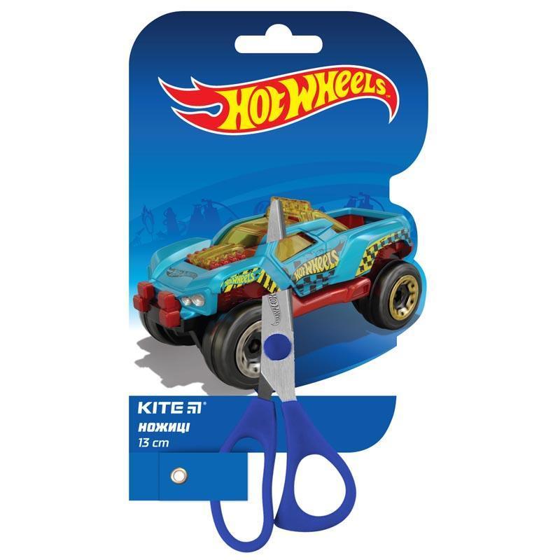 Ножницы Kite 13см Hot Wheels детские HW19-122