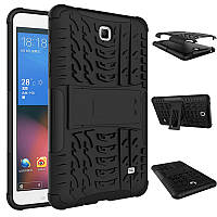 "Чехол бампер для Samsung Galaxy Tab 4 7.0"" SM-T230 T231 T235 KAMII Shockproof Hybrid Black+Black"