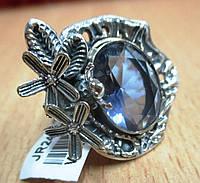 """Оригинальный перстень """"Лягушонок """" с  иолитом размер 18.3  ,  от студии LadyStyle.Biz, фото 1"""
