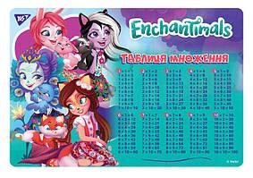 Подложка для стола Yes Enchantimals 43х29см (491477)