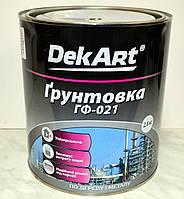 Грунтовка алкидная ГФ-021 DEKART  2,8 кг