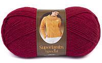 Nako Superlambs Special темно-красный № 3630