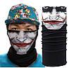 Многофункциональный головной убор Бафф Джокер (копия Buff), черно-белый