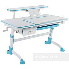 Дитячий стіл Amare з висувним ящиком + полиця для книг SS16W