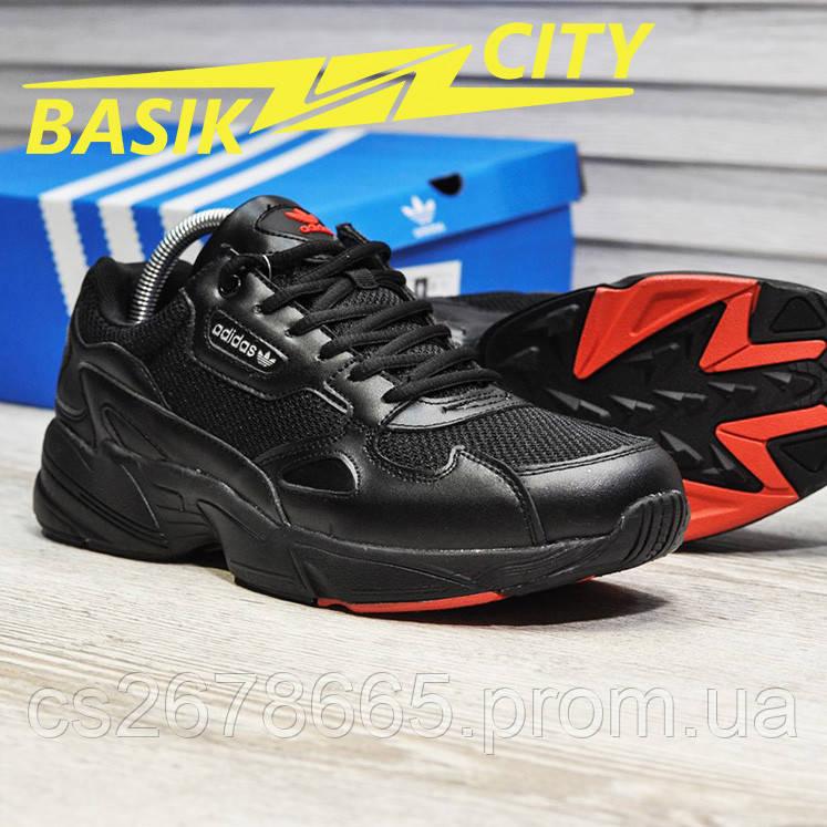 Мужские кроссовки Adidas Falcon Black