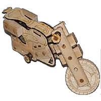 Конструктор Мотоцикл.Розмір зібраної моделі 23*14*14