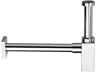 Сифон для раковины квадратный латунный REMER