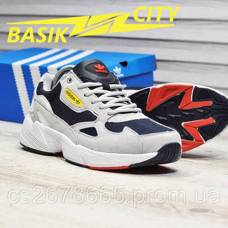 Мужские кроссовки Adidas Falcon Gray