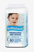 Babylove Reinigungs-Wattepads - Ватные диски 60 шт.