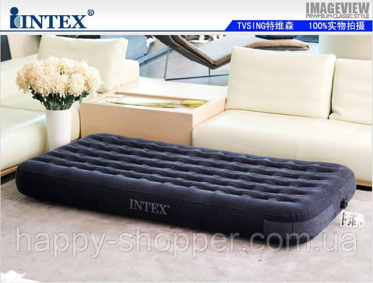 Матрас 67794 Надувная кровать Intex Outdoor Super-Tough AirBed( ортропедическая-99 x 191 x 23 см.