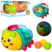 Детская развлекательная и развивающая игрушка для малышей (жук)