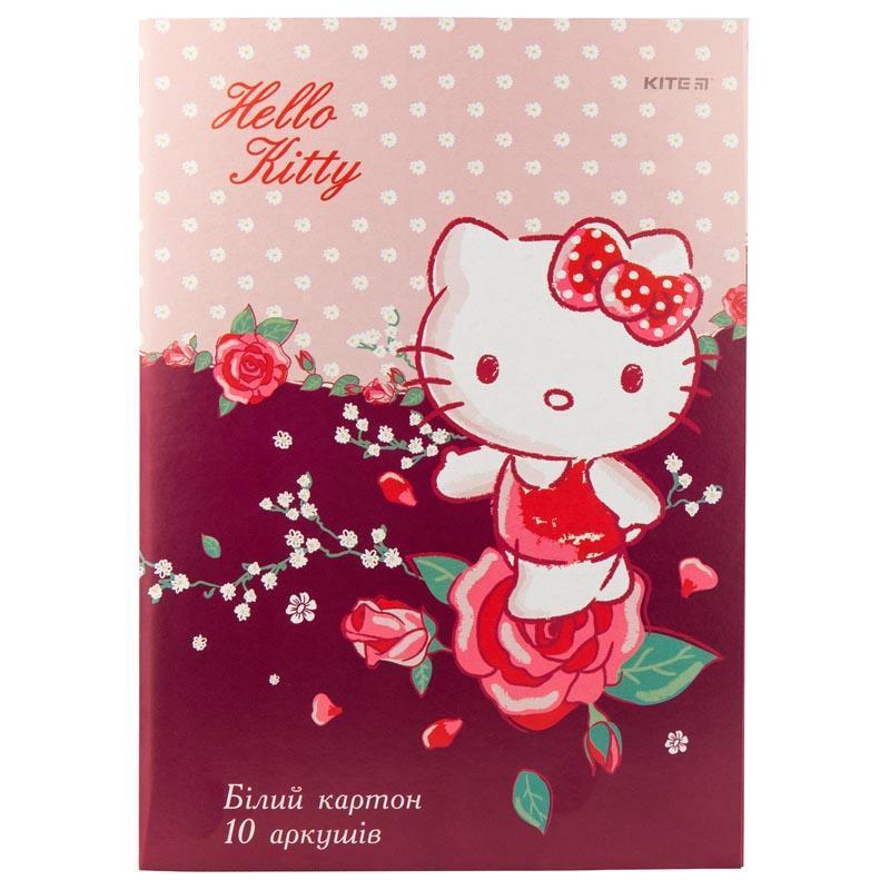 Картон белый Kite A4 Hello Kitty 10листов HK19-254