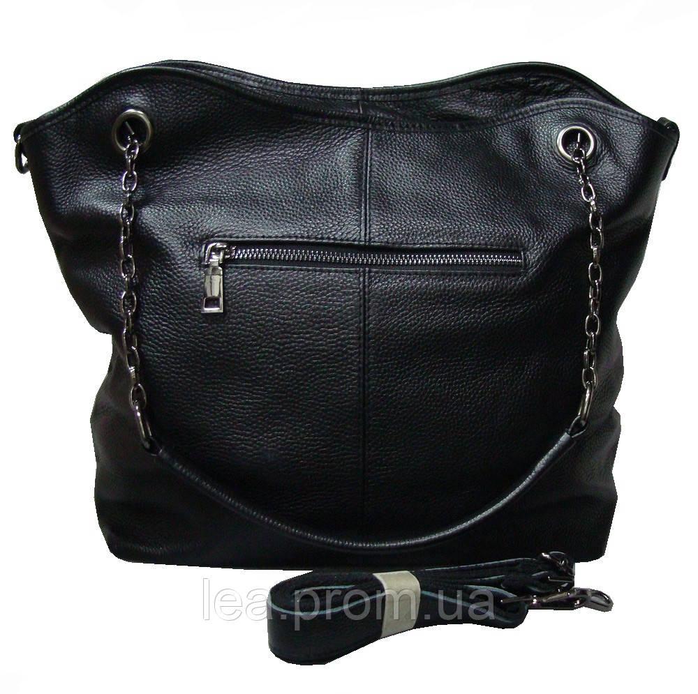 70e8779fba79 ... Женская сумка натуральная кожа мягкая Vito Torelli 15681 чёрная , фото  4 ...