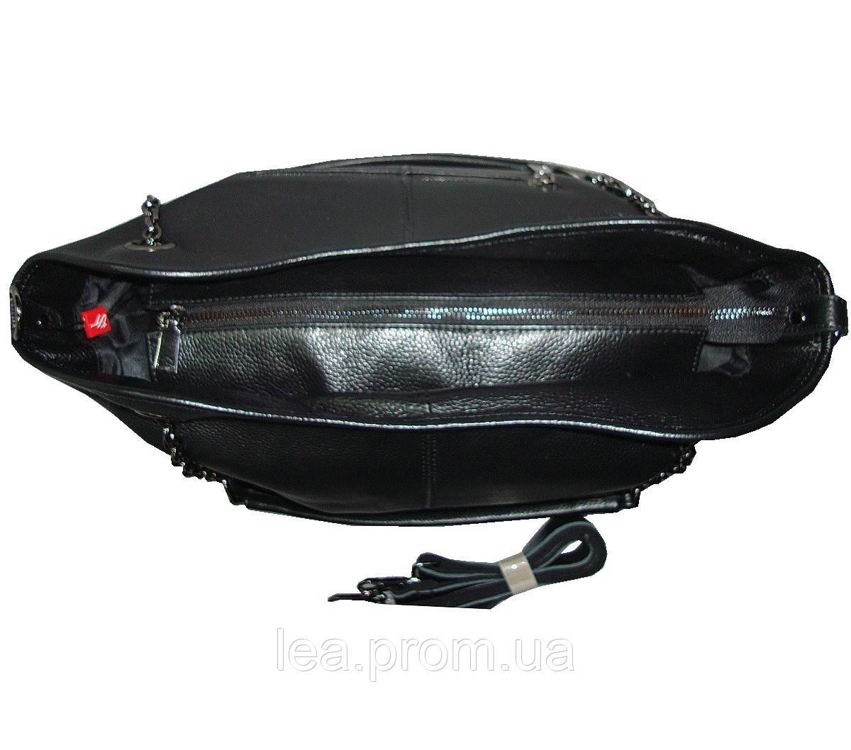 aabf2f68b850 Женская сумка натуральная кожа мягкая Vito Torelli 15681 чёрная , цена 2  000 грн., купить в Киеве — Prom.ua (ID#925293484)