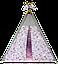 Вигвам Хатка комплект Балерины со стеганным ковриком, фото 2