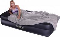 Intex 66721 Надувная кровать 203х102х47см., фото 1