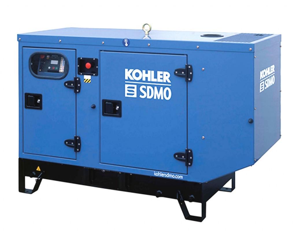Однофазный дизельный генератор SDMO K17M (17.2 кВт) с автоматическим запуском