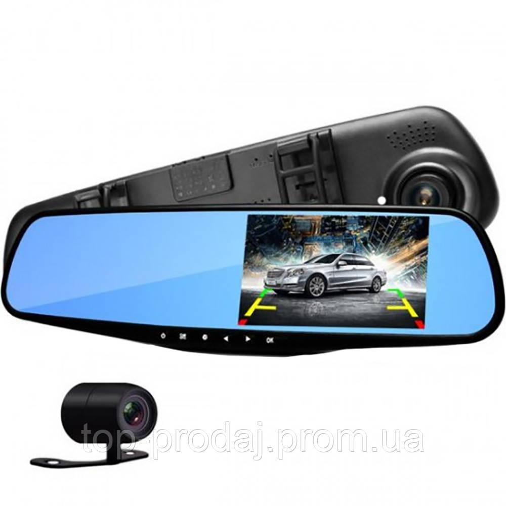 """Зеркало видеорегистратор 1433 (4,3"""") - 2 камеры, Зеркало заднего вида с видеорегистратором, Зеркало с дисплеем"""