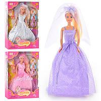 Детская Кукла невеста Defa игрушка для девочек