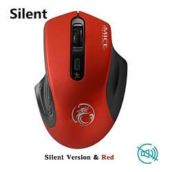 Стильная беспроводная мышь iMice G-1800 Red