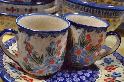 Чашки, Кружки 0,05L - 0,28L