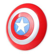 Детский щит Капитана Америки. щит Captain America, Щит Стива Роджерса. 32 см!, фото 3