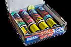 Набор цветных ручных дымов (дымовых шашек): красный, синий, жёлтый, зелёный. , фото 4