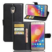 Чехол-книжка Litchie Wallet для Lenovo Vibe P2 Черный