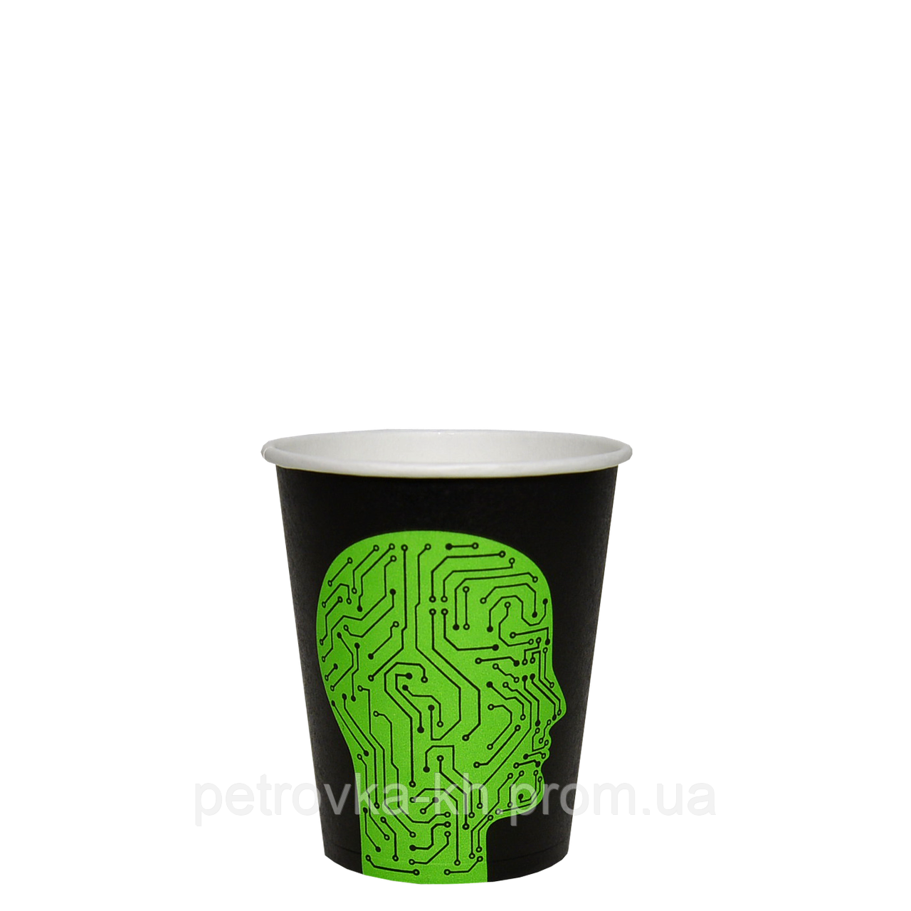 "Одноразовый стакан, серия ""Проскануй"", 175мл. 50шт/уп (1ящ/20уп/1000шт) под крышку КВ71/""РОМБ"" 71"