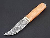 Нож дамасский Клинок ручная работа Охотник