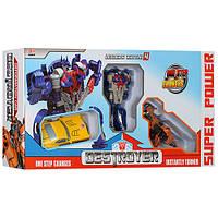 Детский игровой набор робот трансформер (Бамблби Оптимус Динобот) игрушка для мальчика