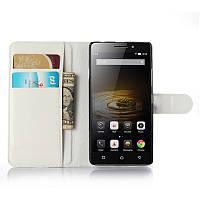 Чехол-книжка Litchie Wallet для Lenovo Vibe P1m Белый