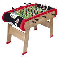 Настольная игра Smoby Деревянный полупрофессиональный футбольный стол Чемпион (620400)