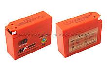 АКБ 12V 2,3 А гелевий, Suzuki (113x39x89, помаранчевий, mod:YT4B-5) OUTDO, шт