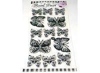 Интерьерная 3D наклейка Бабочки
